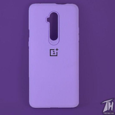 Purple Silicone Case for Oneplus 7t pro