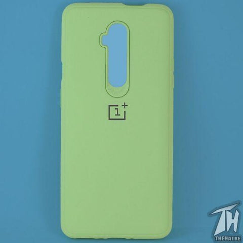 Light Green Silicone Case for Oneplus 7t pro