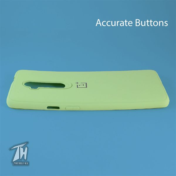 Light Green Silicone Case for Oneplus 7 pro