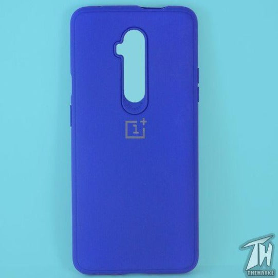 Dark Blue Silicone Case for Oneplus 7 pro