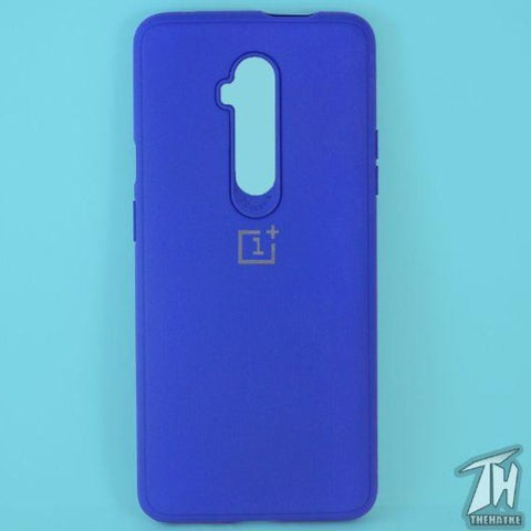 Dark Blue Silicone Case for Oneplus 7t pro
