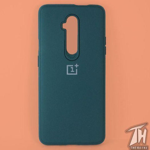 Dark Green Silicone Case for Oneplus 7t pro
