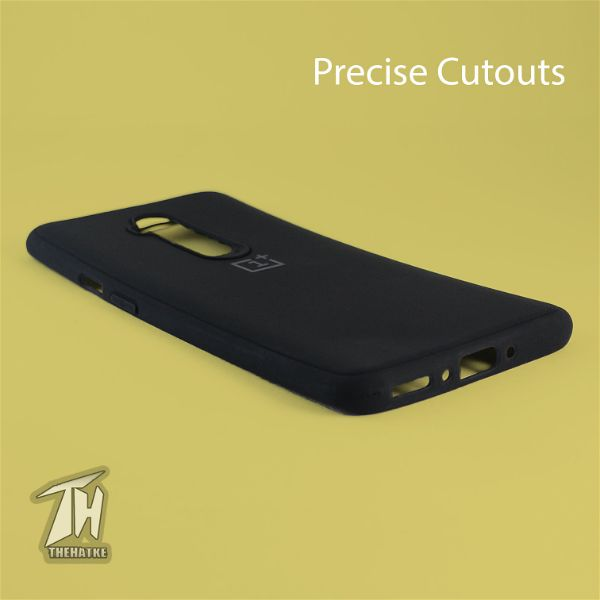 Black Silicone Case for Oneplus 7t pro