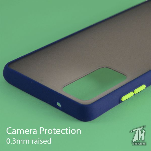 Blue Smoke Silicone Protection case for Samsung S20 FE