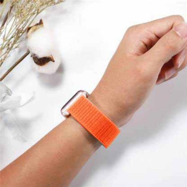 Orange Nylon Strap For Apple Iwatch (38mm/40mm)