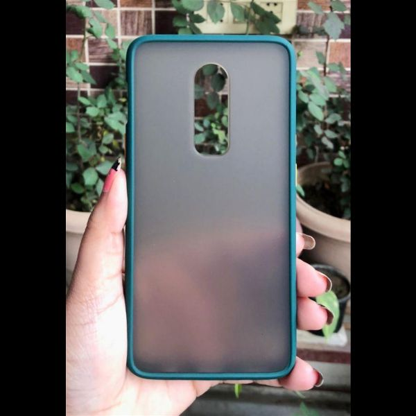 Dark Green Smoke Silicone Protection case for Oneplus 6