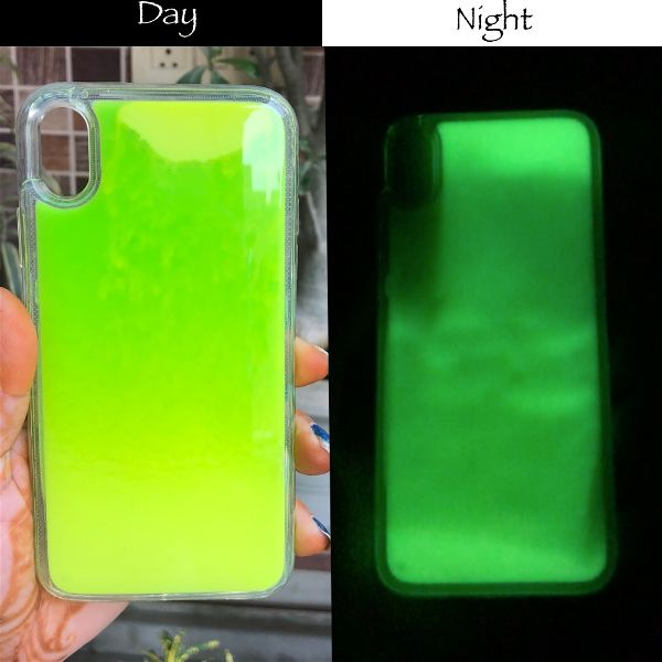 Green Glow in the dark case for Apple iphone Xr