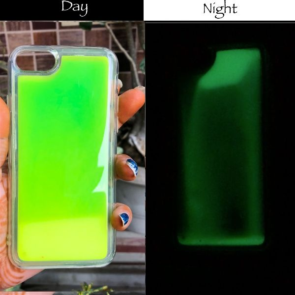 Green Glow in Dark Silicone Case for Apple iphone 7