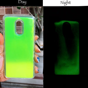 Green Glow in Dark Silicone Case for Oneplus 7