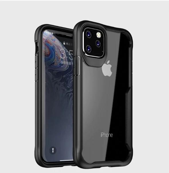 Shockproof Transparent Silicone Case for Apple iphone 11 pro max
