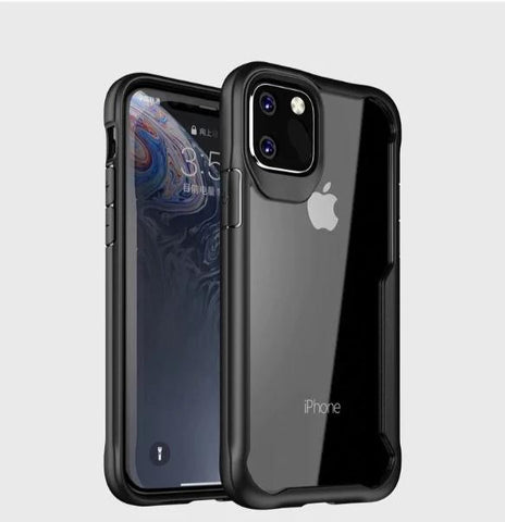 Shockproof Transparent Silicone protection Case for Apple iphone 11