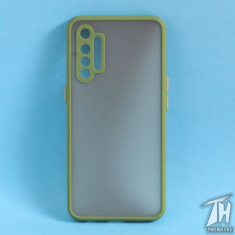 Green Smoke Camera Protection case for Realme XT