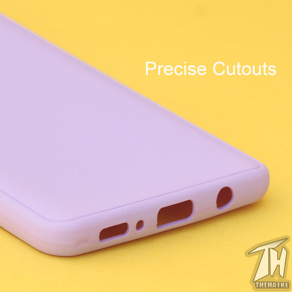 Purple Silicone Case for Samsung M51