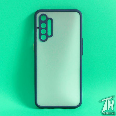 Blue Smoke Camera Protection case for Realme XT