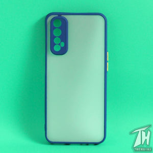 Blue Smoke Camera Protection case for Realme 7