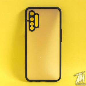 Black Smoke Camera Protection case for Realme XT