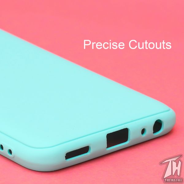 Light Blue Silicone Case for Vivo Y30