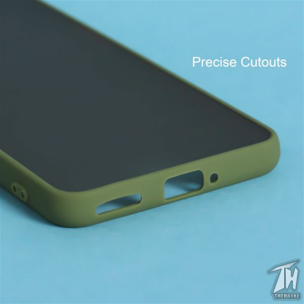 Green Smoke Camera Protection case for Oneplus Nord