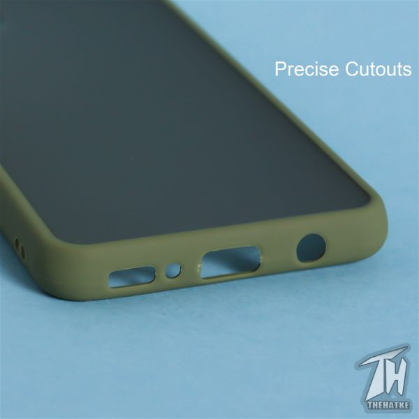 Green Smoke Silicone Protection case for Samsung M31s