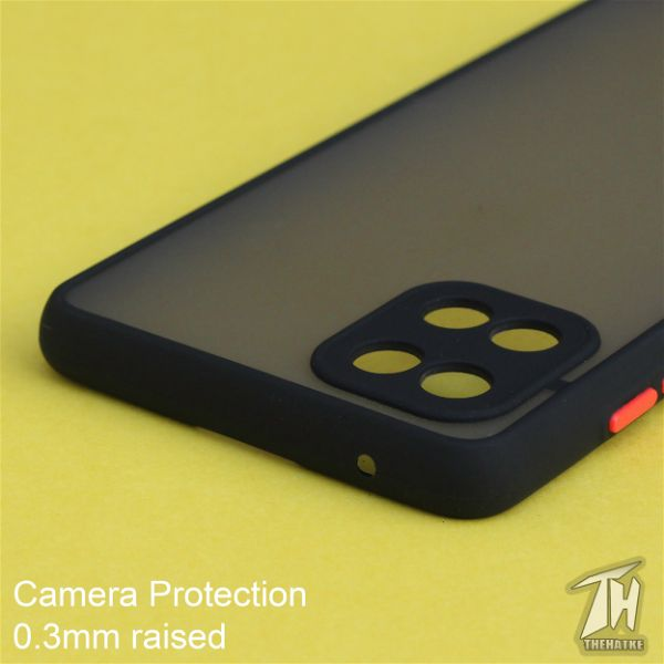 Black Smoke Camera Protection case for Samsung Note 10 Lite