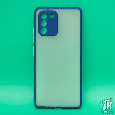 Blue Smoke Camera Protection case for Samsung S10 Lite