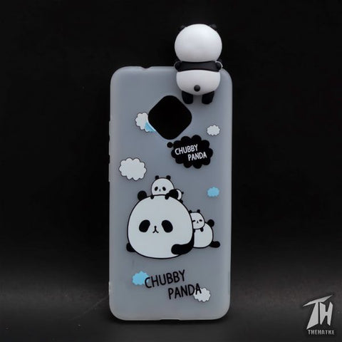Chubby Panda 3D Silicone Case for Vivo S1 Pro