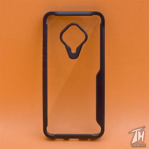Shockproof protective transparent Silicone Case for Vivo S1 Pro