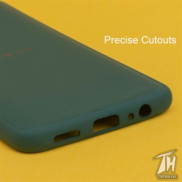 Dark Green Silicone Case for Oppo Reno 2f