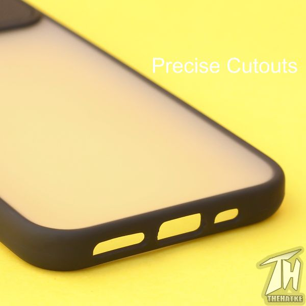 Black Shutter Shockproof Case for Apple iphone 11 Pro Max