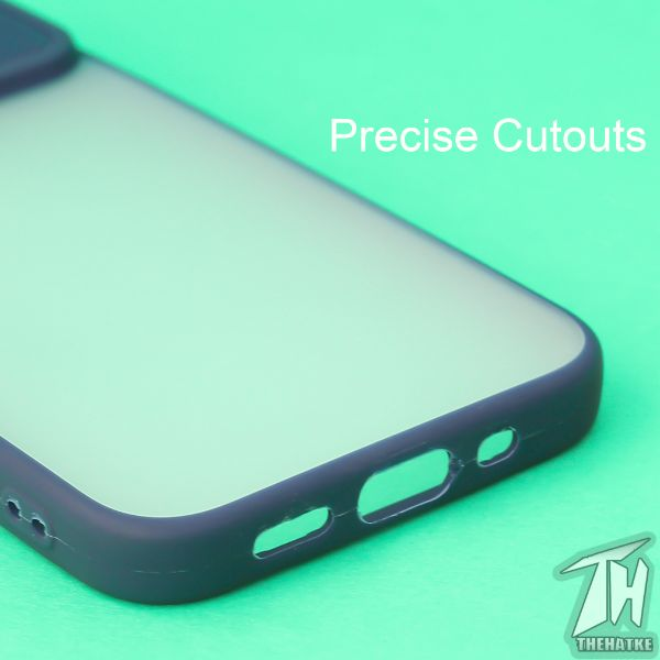 Blue Shutter Shockproof Case for Apple iphone 12 Pro max