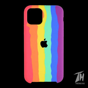 Rainbow Silicone Case for Apple iphone 11 pro
