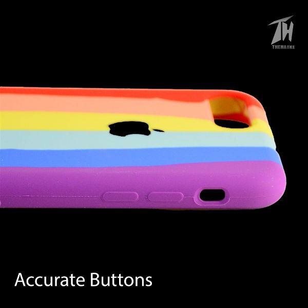 Rainbow Silicone Case for Apple iphone 7