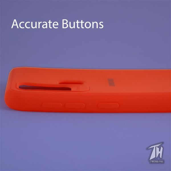 Red Silicone Case for Samsung M31