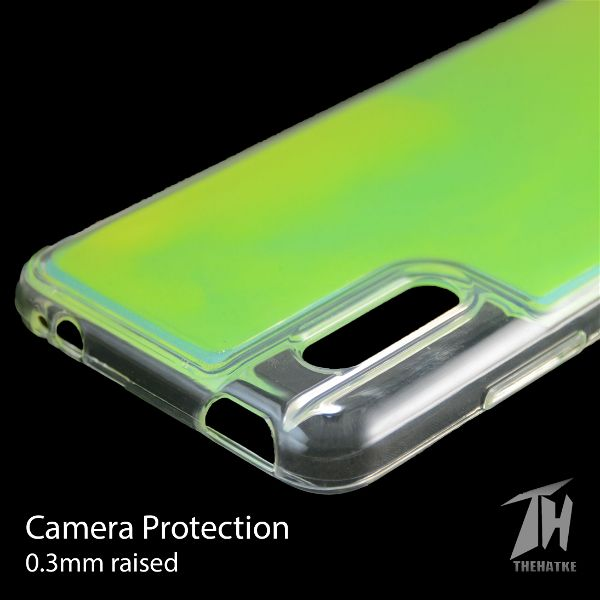 Green Glow in the dark case for Vivo V15 pro