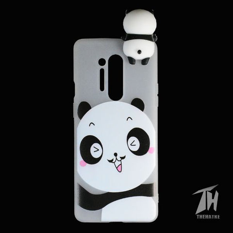 Big Panda 3D silicon Case for Oneplus 8 pro