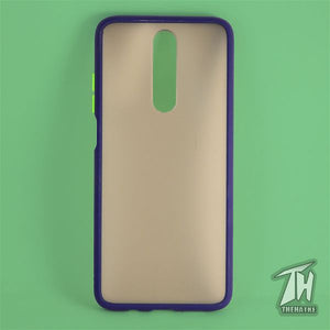 Blue Smoke Silicone case for Poco X2