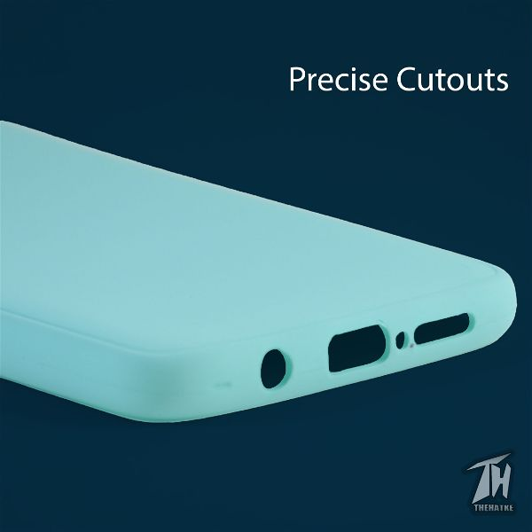 Light Blue Silicone Case for Poco x2