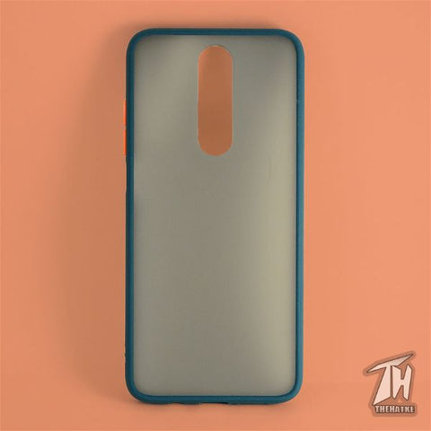 Dark Green Smoke Silicone case for Poco X2