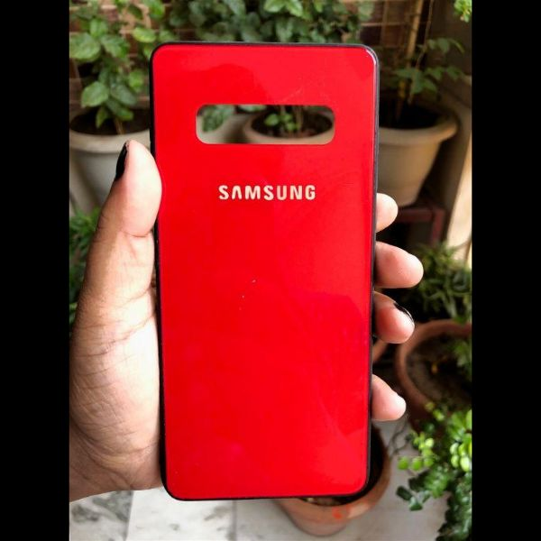 Red mirror Silicone Case for Samsung S10 Plus