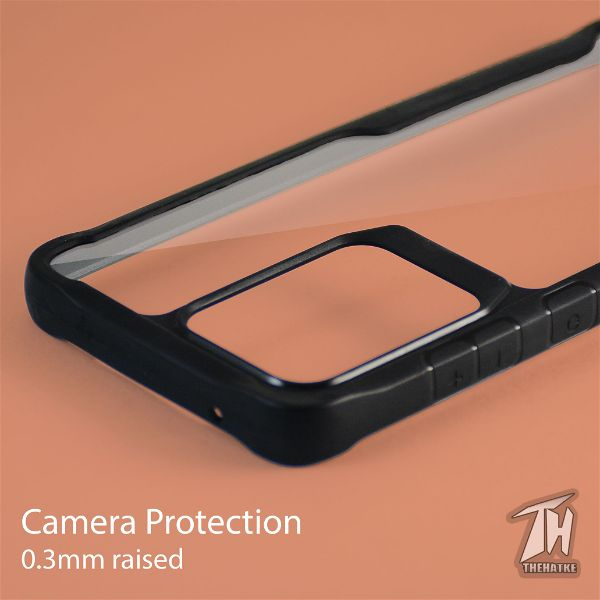 Shockproof protective transparent Silicone Case for Samsung S20 ultra