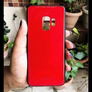Red Mirror Silicone Case For Samsung S9