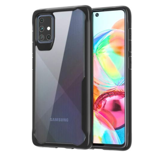 Shockproof protective transparent Silicone Case for Samsung A51