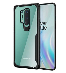 Shockproof transparent silicone protection case for Oneplus 8 pro