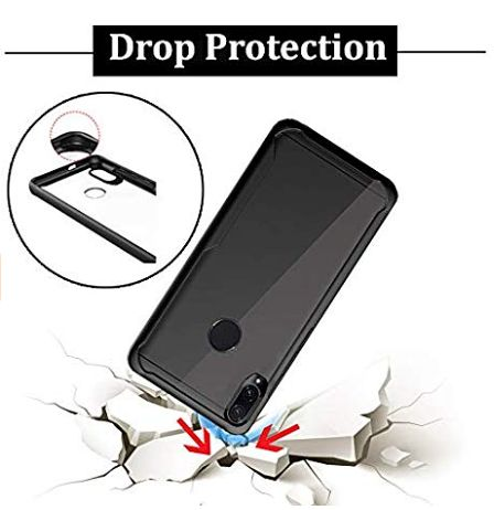 Shockproof silicone protective transparent Case Xiaomi Redmi note 7 pro