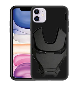 Ironman Engraved Silicone Case for Apple iphone 11
