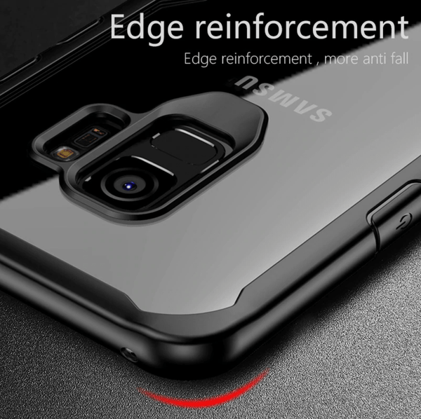 Shockproof protective transparent Case for Samsung S9