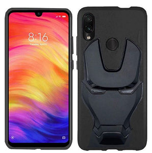 Ironman Engraved Silicon Case for Redmi note 7 pro