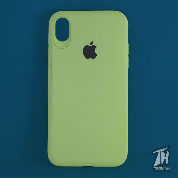 Light Green Silicone Case for Apple iphone X/Xs