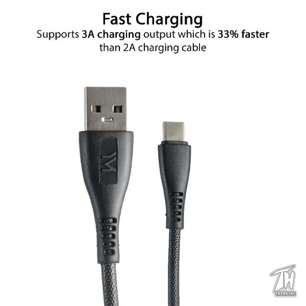 High Quality Type C Charging Cable (1 metre)