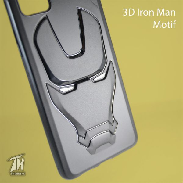 Ironman Engraved Silicone Case For Samsung Galaxy A51